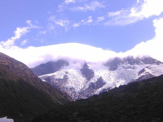 Twizel, นิวซีแลนด์: View near top of the mountain