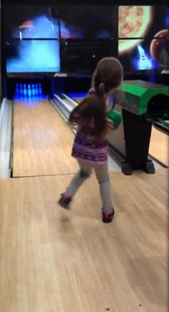 Mini bowling  - Picture of Go 'N Bananas Family Fun Center