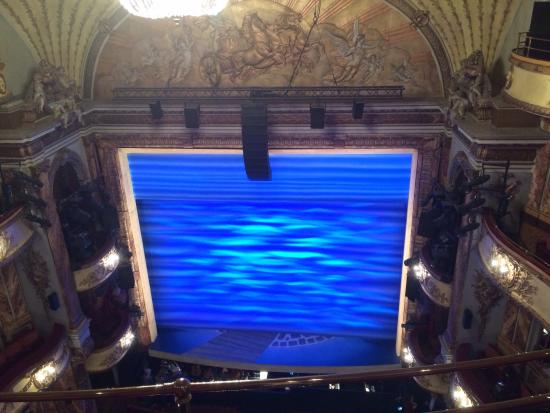 A wiew from our seats in balcony picture of novello for Balcony novello theatre