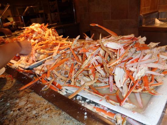 king and snow crab picture of the buffet at bellagio las vegas rh tripadvisor com
