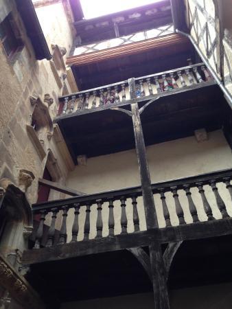 Musée de la Visitation: la cour intérieure