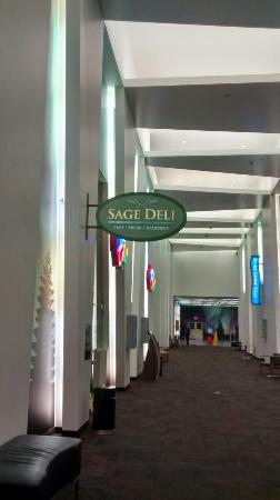 Black Bear Grill: Sage Del sign by entrance