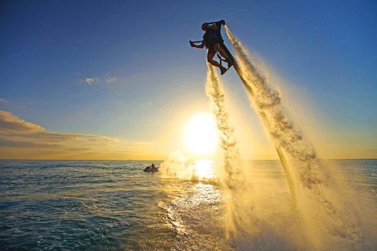 Guy Harvey Outpost, a TradeWinds Beach Resort: JetLev
