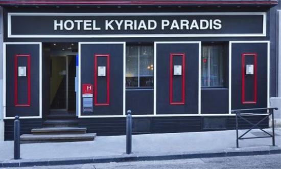基里亞德馬賽中央帕拉迪普雷菲克圖爾酒店