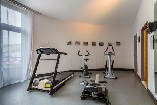 Alliance Hotel Tours Centre: Fitness