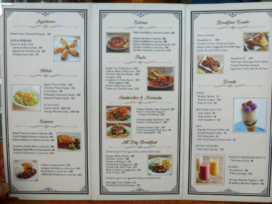 Menu  Picture Of ContiS San Juan  Tripadvisor