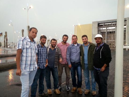Taif, Saudi Arabia: Jouri mall team of construction