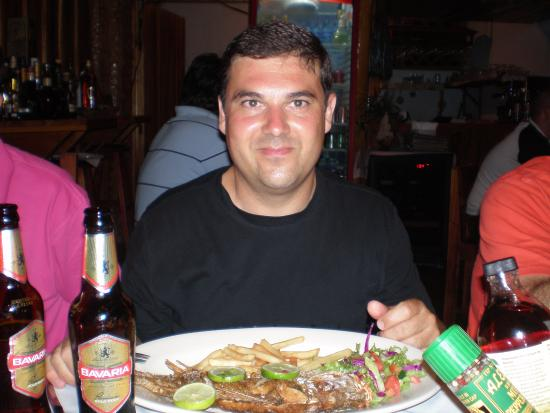 Restaurant Tipico Cahuita: rico,rico.