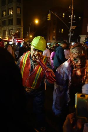 New York City Halloween Parade.Zhut Picture Of The Village Halloween Parade New York City