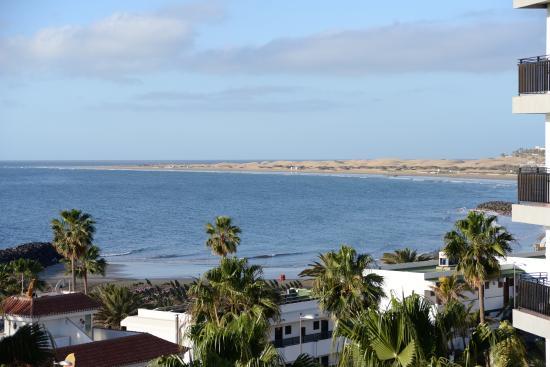 Beverly Park Hotel: vue en se promenant sur le front de mer