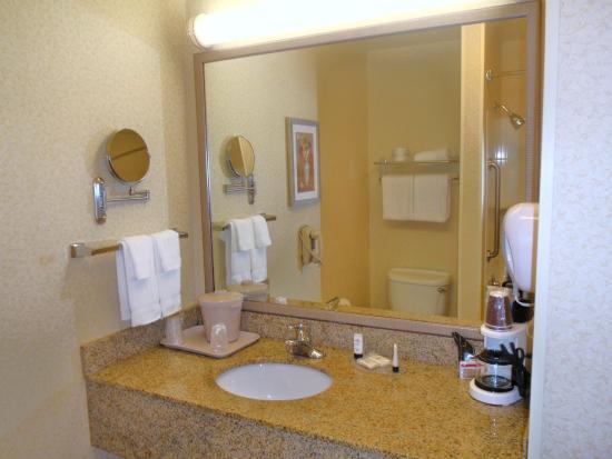 Fairfield Inn & Suites Cordele: Guest Bath
