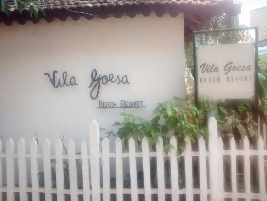 Vila Goesa Beach Resort: Front view
