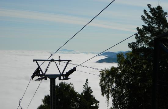 Гора Церковка: подъем на гору