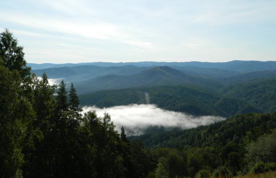 Гора Церковка: вид с горы