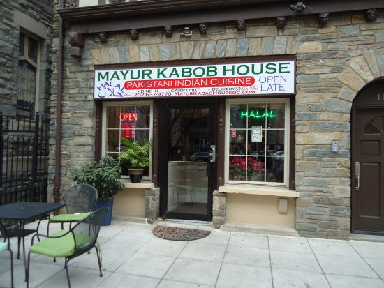 Mayur Kabob: Outside Seating
