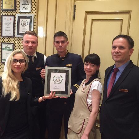 Hotel Bristol Odessa: Tripadvisor Award 2016