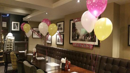 18th birthday party Picture of The Apple Tree Carlisle TripAdvisor