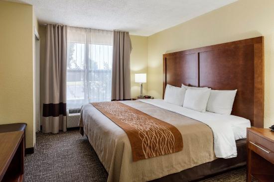 Comfort Inn Olive Branch: King suite