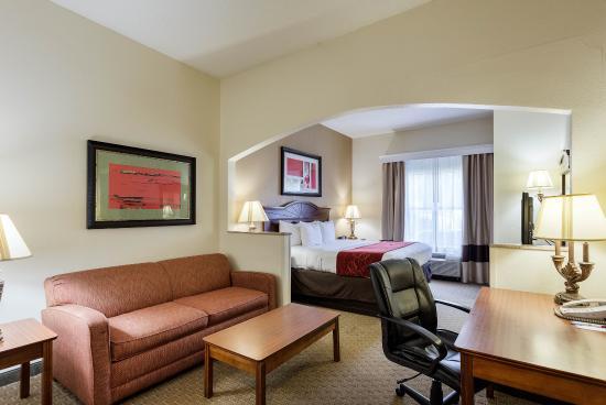 Comfort Suites: King suite