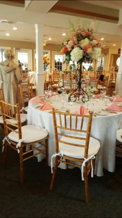 Kate Ally S Wedding Reception At The Brant Beach Yacht Club Long Island