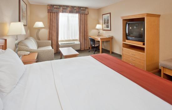 Holiday Inn Express Hotel & Suites Vernon: Standard King Bed Guest Room offers comfort and spaciousness.