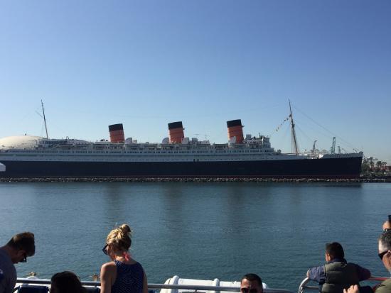 great view across the parking lot to the long beach cruise terminal rh tripadvisor ie