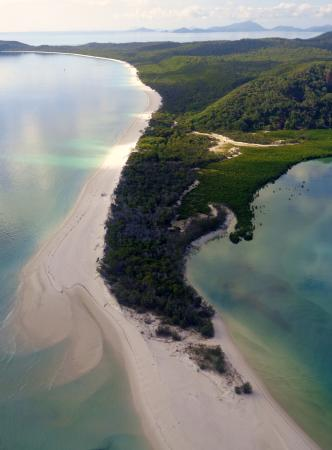 Whitehaven Beach from the sky