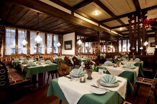 Hotel Beau-Site: Restaurant Spa
