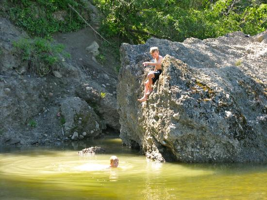Parque Provincial Fish Creek: A great swimming hole
