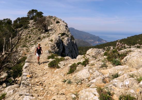Camino del Archiduque: hier ist also der Erzherzog entlang geritten.