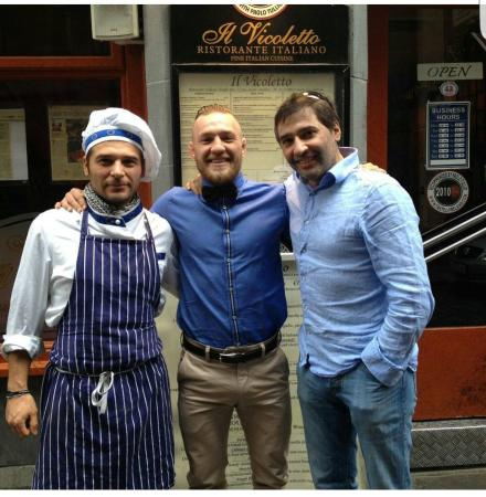 The local hero and true warrior Conor is loved in Il Vicoletto
