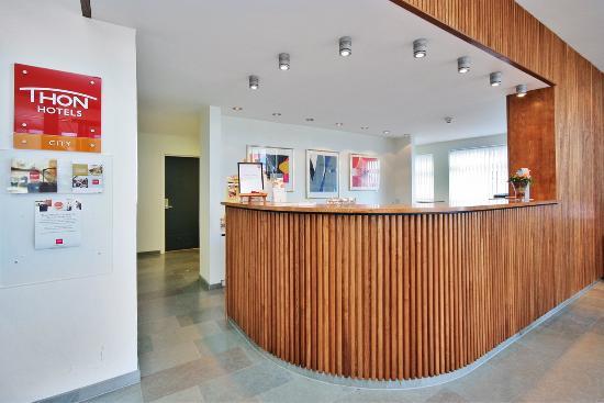Thon Hotel Aalesund: Reception