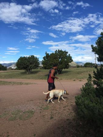 Echo Canyon Campground & RV Park: Our Dog Indica Loved it :)