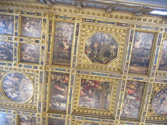 soffitto sala dei 500 - Foto di Museo di Palazzo Vecchio, Firenze - TripAdvisor