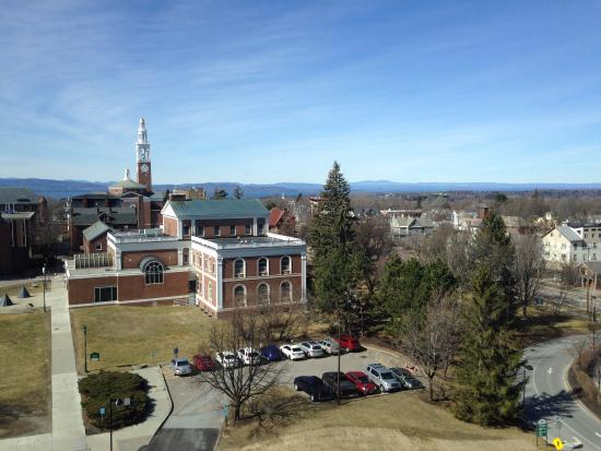 University of Vermont: View from McClure 5, University Medical Center