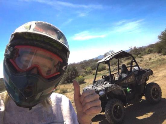 Wickenburg, AZ: Thumbs up for Happy Trails ATV Rentals!