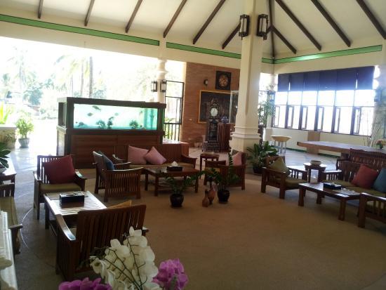 Khaolak Orchid Beach Resort: Reception