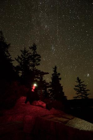 Blackwoods Campground: Take the trail to the cliff at night and take starry night photos!