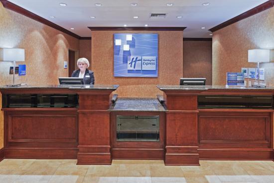 Poteau, Оклахома: Front Desk