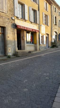 Chantemerle-les-Grignan, Francia: La Pizza Du Chateau