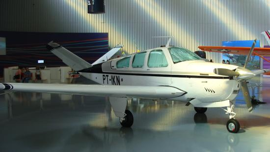 Beechcraft Bonanza - Picture of TAM Museum, Sao Carlos
