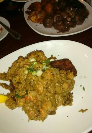 George's Low Country Table: Eggplant Pirogue is delicious