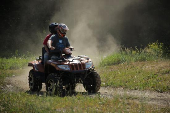 Copper Point Resort : ATVing