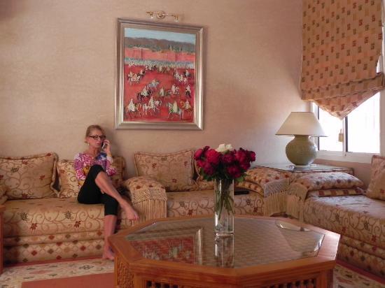 La setifa maison d 39 hotes marrakech marocko omd men och prisj mf relse tripadvisor for Peinture salon maroc violet