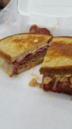 Delmar, MD: Celebrate St.Patricks  day with a Reuben. Comes with chips or fries. $6.99