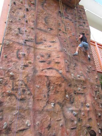 Melia Puerto Vallarta All Inclusive : Muro de escalar con 4 niveles, divertidísimo!