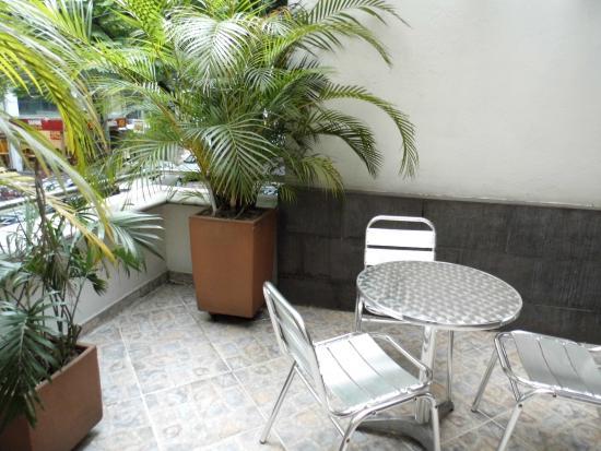 Hotel Poblado Boutique Express: Terraço