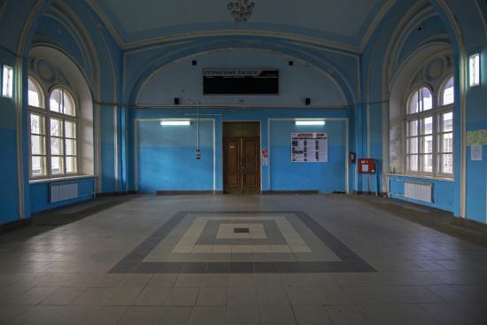 Malaya Vishera, Russland: Малая Вишера. Здание старого вокзала (1856 г.)