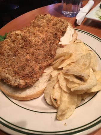 Batesville, IN: The Christina Salad & Tenderloin Sandwich