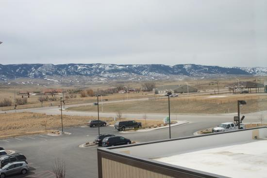 Best Western Plus Casper Inn & Suites: View 3rd floor looking South